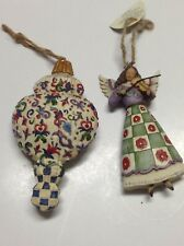 Jim Shore Christmas Ornaments Angel With Violin Heartwood Creek