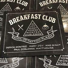 Breakfast Club - Tattoo Flash Book - Blackwork Tattoos