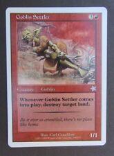 Goblin Settler Starter 1999 Mtg Magic The Gathering single card creature (3)