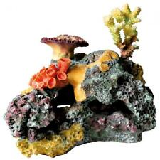 Trixie Coral Reef & Rock Aquarium Ornament Fish Tank Colourful Decoration - 32cm