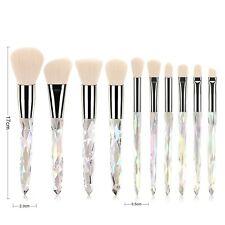 Diamond Cosmetic Iridescent 10 pcs brush set