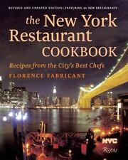 The New York Restaurant Cookbook: Recipes from the City's Best Chefs-ExLibrary