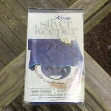 Hagerty Silver Keeper, 18x18 Zippered Holloware Bag, for round trays, etc. Nib!