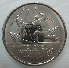 2009 CANADA 25¢ OLYMPIC WOMEN'S HOCKEY BRILLIANT UNCIRCULATED QUARTER