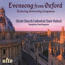 Christ Church Cathedral Choir Oxford - Evensong From Oxford [New CD]