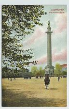 Hannover, Waterloosäule Soldaten Exerzierplatz ungel. 1909