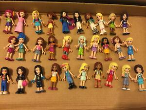 Lego Friends lot of 30  Minifigure     a5