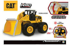 Remote Control CAT Wheel Loader Lights Sound RC Construction Machine Nikko Kids