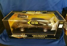 1969 Dodge Daytona American Muscle 1:18 Scale with 1:64 Replica