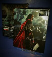 THOR BLUFANS 3D/2D BLU RAY STEELBOOK * QUARTER SLIP * LOW NUMBER * 69 !!!