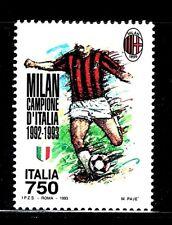 SELLOS DEPORTES FUTBOL. ITALIA 1993 2014 MILAN 1v.