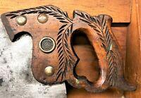 Disston No. 112 Saw - 8 TPI  Skewback Crosscut Handsaw