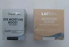 Lacura Moisture Boost Hydrating Gel Moisturiser  & Eye Moisture Boost Eye Cream