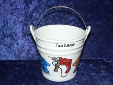Power Tools Teabag tidy.Bucket shaped used teabag pot Drill, Saw, driver, plane