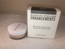 Rodan and Fields Enhancements Mineral Peptides SPF 20 Light EXP 5/2020 NEW (X32)
