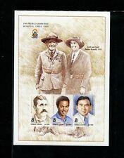 Sierra Leone 1998 Scouts Scott 2137-38  Set of Imperf Souvenir Sheets