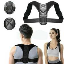 Adjustable Posture Corrector Belt Shoulder Therapy Back Support Brace Men Women