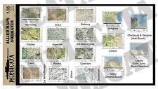 Diorama/Model Accessory - 1/35 Allied Maps, Normandy - WW2
