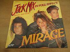 MIRAGE - JACK MIX IN FULL EFFECT  Vinyl LP Mixed UK 1988 Hi NRG , DISCO SMR 856