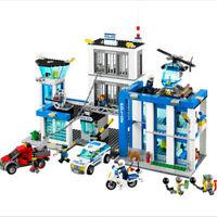 Lego 60141 Mega Bloks COMPATIBIL100% City ☆ LA STAZIONE DI POLIZIA ☆◄ BULK BOX ►