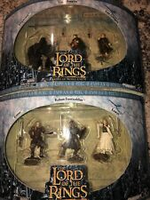 """2 Lord Of The Rings Battle Figures. """"Rohan Soldiers� And """"Attack At Weathertop.�"""