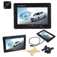 7 inch DC 12V-24V TFT LCD VGA AV Monitor HD Car Display 800*480 for Raspberry