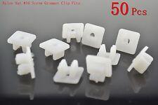 50x Nylon Nut #10 Screw Grommet Clip Fits For Toyota Honda Nissan Mazda