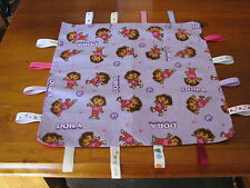 DORA THE EXPLORER PERSONALISED BABY GIRLS TAG BLANKETS : GREAT GIFT :