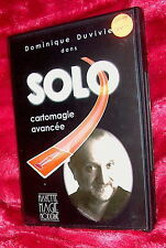 dvd Dominique Duvivier Solo-Advanced Card Magic Mayette 2003