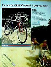 1972 Sears Roebuck New Free Spirt 10-Speed Boys Bicycles~Bike Toy Promo Trade AD