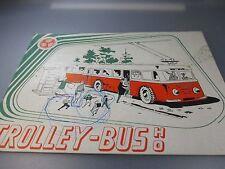 EHEIM TROLLEY BUS bildpreisliste/catalogue (gk110)
