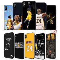 Kobe Bryant 24 8 Soft TPU Case for iPhone 11 Pro Xr X XS Max 8 7 6 6s Plus