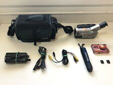 Sony CCD-TR717E PAL VideoHi8 Handycam Camcorder + Videograbber Bundle