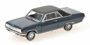 Opel Diplomat V8 Coupe' 1965 Bleu 1:43 Model Minichamps