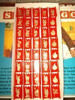 1975 Red Straego Piece Set