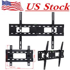 "TV Wall Bracket Mount Tilt Flat LED LCD 32 37 42 46 50 52 55 60 65 70"" Load 60Kg"
