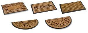 Bruce Starke Fitzroy Doormat - Heavy Duty Coir Brush with Rubber Back