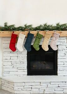 CLEARANCE Velvet Christmas Stocking, Christmas Stockings