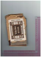 Eastman Kodak Solio Paper for Photo Postcards dated 1913