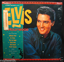 ELVIS PRESLEY-In Hollywood-Rare Fully Sealed UK Import Album-EVEREST #CBR 1014