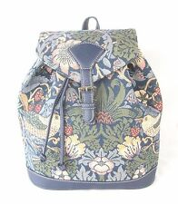 Strawberry Thief Bird Design Tapestry Backpack or Rucksack Signare