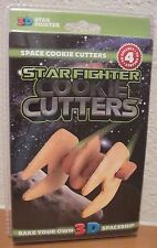 3D Space Ships Cookie Cutters - Star Fighter