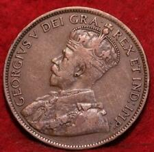 1915 Canada One Cent Foreign Coin