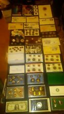 BIG coin LOT collection MINT SETS PROOF SET SILVER CERTIFICATE +NO JUNK DRAWER