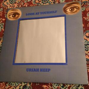 URIAH HEEP - LOOK AT YOURSELF- UK BRONZE RECORDS - CLASSIC ROCK, HARD ROCK PROG