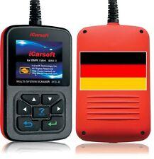 iCarsoft i910II + Service Reset Öl für BMW Diagnose Motor Getriebe ABS Airbag