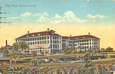 Ancon Panama Hospital Posted to Jamaica Postcard