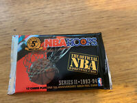 1993-94 Nba Hoops Basketball Series 2 Sealed Pack: 5th Anniversay Edition.