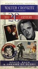 Walter Cronkite Remembers The 20th Century  Space, Race & Dreams VHS Tape  New