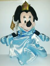 QUEEN MINNIE PLUSH DISNEY 24Cm. Peluche Topolino Figure Mickey Mouse Pupazzo